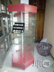 Glass Shelf Revolving Display Unit For Jewelries | Furniture for sale in Lagos State, Lekki Phase 1