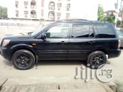 Honda Pilot 2006 EX-L 4x4 (3.5L 6cyl 5A) Black | Cars for sale in Lagos State, Yaba