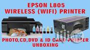 Epson L805 for Direct Id Card Printing/Photo/Cd | Printers & Scanners for sale in Delta State, Uvwie