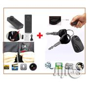 Spy Car Key Camera With Video Recorder & HD Button Voice/ Video Recorder | Vehicle Parts & Accessories for sale in Lagos State, Ikeja