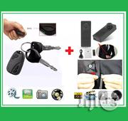 Mini S918 HD Button DV Camera With Car Key Voice Camera/ Video Recorder | Vehicle Parts & Accessories for sale in Lagos State, Ikeja