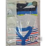 George 3pcs Baby Boy Sleepsuits | Baby & Child Care for sale in Lagos State, Shomolu