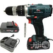 24volts Maxmech Cordless Drill Screw Driver 24vols   Electrical Tools for sale in Lagos State, Agboyi/Ketu