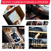 5D Fiber Formica Sticker For Car Interior & Home Furnitures Decor. | Vehicle Parts & Accessories for sale in Imo State, Owerri-Municipal