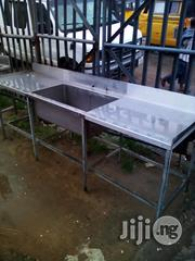 Single Sink With Bench | Restaurant & Catering Equipment for sale in Lagos State, Ojo