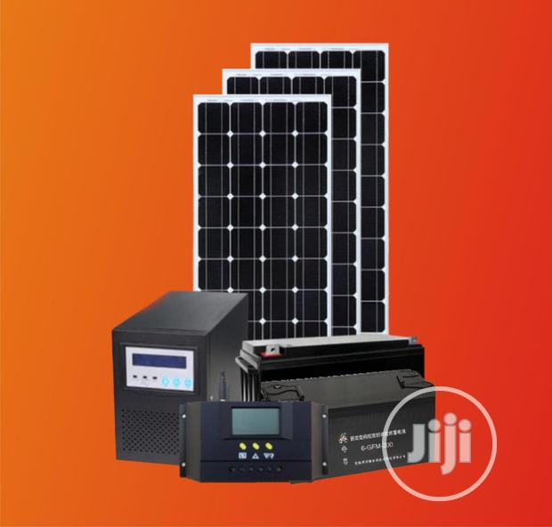 900watts Solar System (Ex Inverter And Batteries)