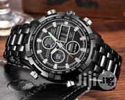 CURDDEN Full Steel Digital Chronometer Waterproof Watch | Watches for sale in Lagos State, Shomolu