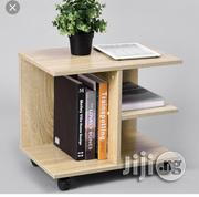 Bloopent Side Stool With Shelve and Partition for Books | Furniture for sale in Lagos State, Ibeju
