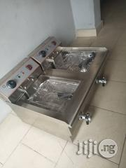Double Mouth Industrial Gas Deep Fryer | Restaurant & Catering Equipment for sale in Lagos State, Surulere
