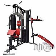 American Fitness Three-Station All in One Heavy Duty | Sports Equipment for sale in Rivers State, Port-Harcourt