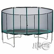 American Fitness Trampoline With Ladder and Bull Net- 12 People | Sports Equipment for sale in Imo State, Owerri West
