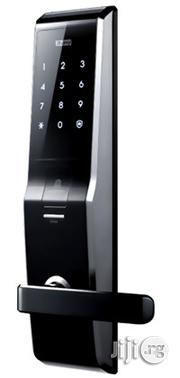 Safe Fingerprint Scanner Door Lock With Touch Keypad | Computer Accessories  for sale in Lagos State, Apapa