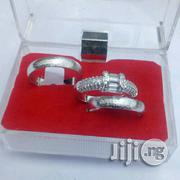 Clue Silver Wedding Ring Set   Jewelry for sale in Lagos State, Surulere