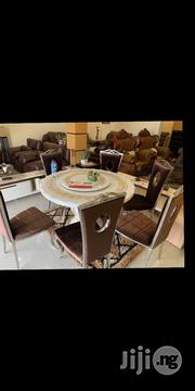 Spanish Rotating Marble Dinning | Furniture for sale in Abuja (FCT) State, Gwarinpa