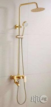 Standing Shower (Gold) | Plumbing & Water Supply for sale in Lagos State, Orile