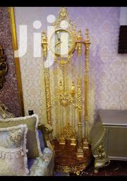 Golden Standing Clock | Home Accessories for sale in Lagos State, Ojo