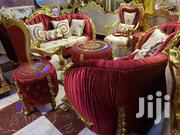 Royal Sofa Chair Red | Furniture for sale in Lagos State, Ojo