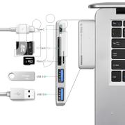 Type-C Multi-Port Card Reader for Charging New Macbook | Computer Accessories  for sale in Lagos State, Ikeja