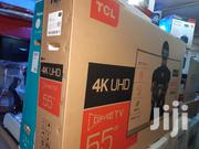 TCL Culv 55 Inches Led(4K Uhd)(Youtube) TV With 2years Warranty | TV & DVD Equipment for sale in Lagos State, Oshodi-Isolo