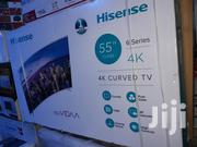 Hisense Culv Led (4K Uhd) (Youtube) TV 55 Inches | TV & DVD Equipment for sale in Lagos State, Oshodi-Isolo