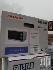 Sharp Microwave 20ltrs 1years WARRANTY Manual Quality Product | Kitchen Appliances for sale in Lagos State, Oshodi-Isolo