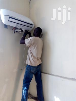 Installation Of Air-condition From Condict To Surface Repair/ Sell