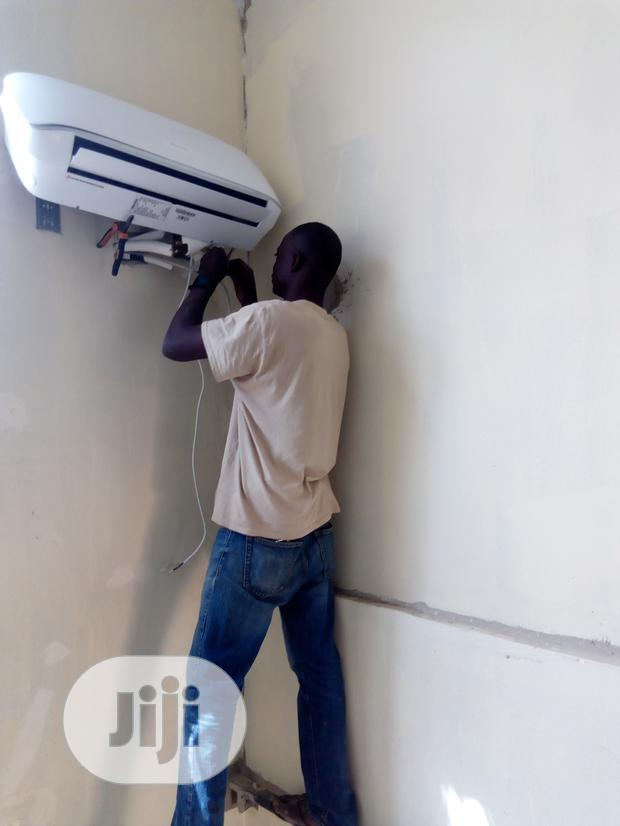 Archive: Installation Of Air-condition From Condict To Surface Repair/ Sell