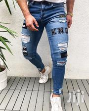 Current Designers Ripped Jeans | Clothing for sale in Lagos State, Ojo