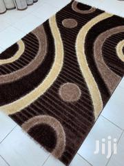 5×7 Cream And Brown Turkish Shaggy Center Rugs | Home Accessories for sale in Lagos State, Yaba