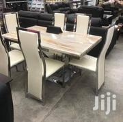 Brand New Smart 6 Seater Turkey Marble Dining Table   Furniture for sale in Lagos State, Victoria Island