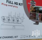 4 Channels Full HD Kit | Photo & Video Cameras for sale in Lagos State, Ajah