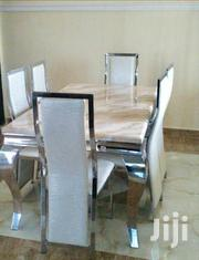 Best Quality Marble Dining Table With Six Durable Chairs | Furniture for sale in Lagos State, Lekki Phase 2