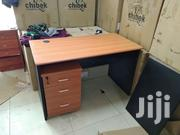 Quality 4ft Office Table With Mobile Drawer | Furniture for sale in Lagos State, Ikeja
