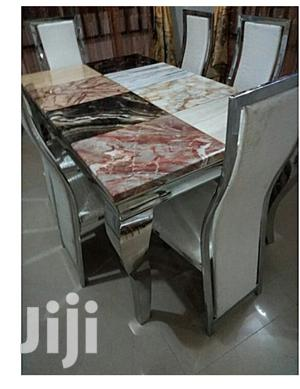 Marble Dinning Set(6 Seaters)