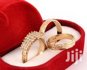 AA1 Wedding Ring Set. 18karat Gold Plated | Wedding Wear for sale in Lagos State, Lagos Mainland