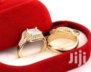 Plated Gold Wedding Ring Set | Wedding Wear for sale in Lagos State, Lagos Mainland