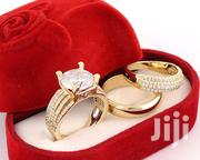 Wedding Ring Gold Plated Set. Romanian | Wedding Wear for sale in Lagos State, Lagos Mainland