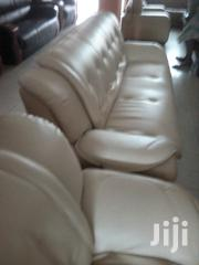Italian Leather Chair Complete Set | Furniture for sale in Lagos State, Ojo