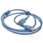 USB To USB Extension Cable 1.5meters Male To Male   Computer Accessories  for sale in Lagos State, Ikeja
