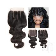 Closure 4*4 Three-part Body Wave Lace Closure   Hair Beauty for sale in Lagos State, Ikeja