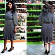 Made in Turkey Chiffon Shift Dress. | Clothing for sale in Abuja (FCT) State, Gwarinpa