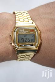 Casio A159WA-1DF Men's Digital Alarm Watch - Gold | Watches for sale in Lagos State, Lagos Mainland