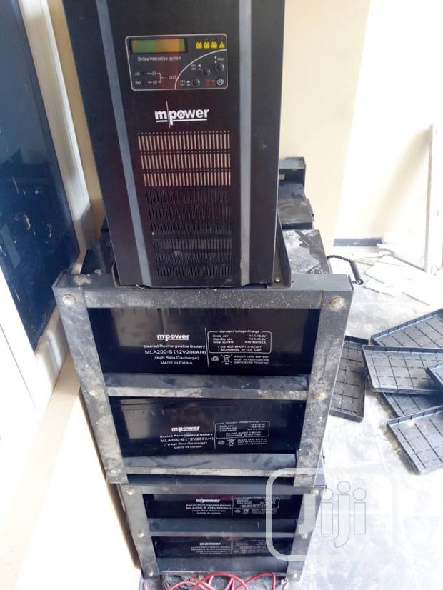 5kva Inverter With 8 200AH Battery