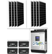 5kva 48v Hybrid Inverter With 4 200AH Battery And 8 250w Panels | Electrical Equipment for sale in Enugu State, Enugu