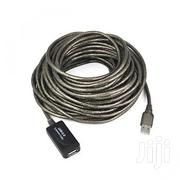 USB To USB Extension Cable 20meters Male To Female | Computer Accessories  for sale in Lagos State, Ikeja