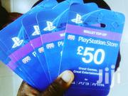 Sony Playstation PSN £50 Gift Card | Video Games for sale in Lagos State, Lagos Mainland