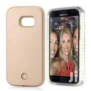 Light Up Selfie Phone Cover Lighting Case for Samsung S6edge Plus Gold | Accessories for Mobile Phones & Tablets for sale in Lagos State, Ikeja