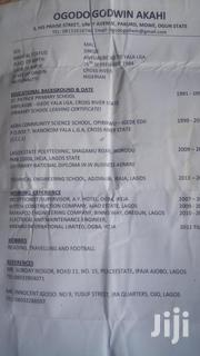 Engineering & Architecture CV | Manual Labour CVs for sale in Lagos State, Apapa
