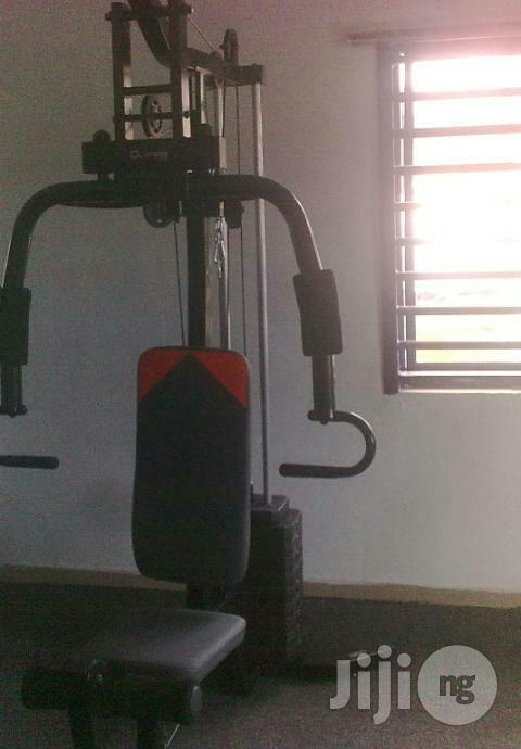 One Station Homegym With Accessories