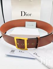 Original Dior Female Tommy Leather Belt | Clothing Accessories for sale in Lagos State, Lagos Island